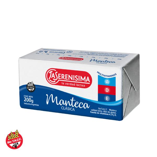 MANTECA LA SERENISIMA MULTIVITAMINAS 200GR