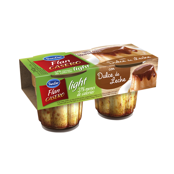 FLAN CASERO SANCOR LIGHT C/ DDL 240GR