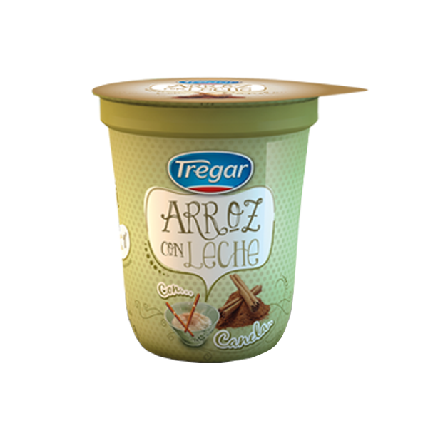ARROZ C/LECHE TREGAR CANELA 180GR
