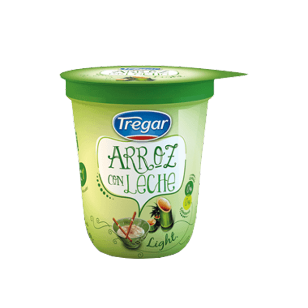 ARROZ C/LECHE TREGAR LIGHT 180GR