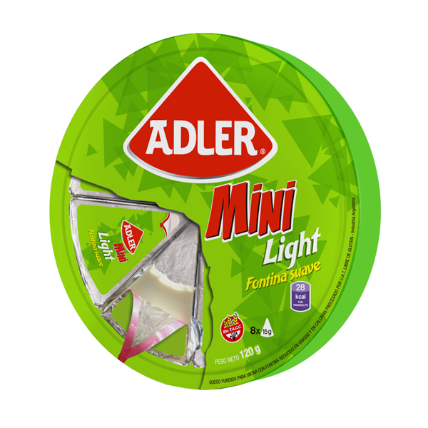 QUESO ADLER LIGHT 120GR