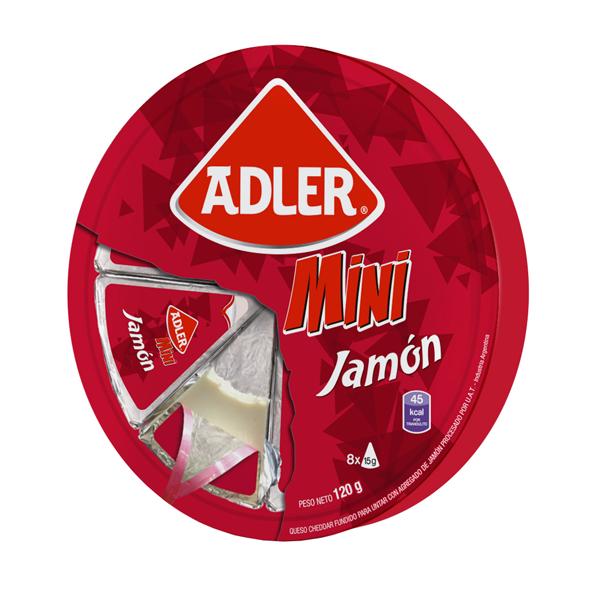 QUESO ADLER JAMON 120GR