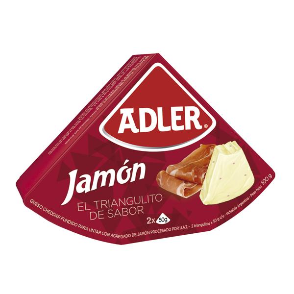 QUESO ADLER JAMON 100GR