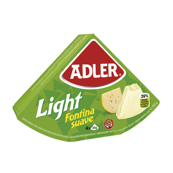 QUESO ADLER LIGHT 100GR