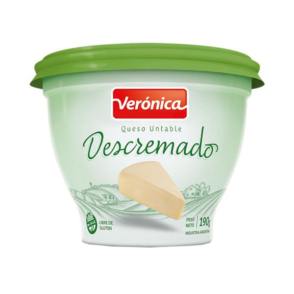 QUESO UNTABLE VERONICA DESCREMADO 190GR
