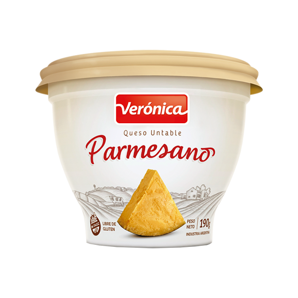 QUESO UNTABLE VERONICA PARMESANO 190GR