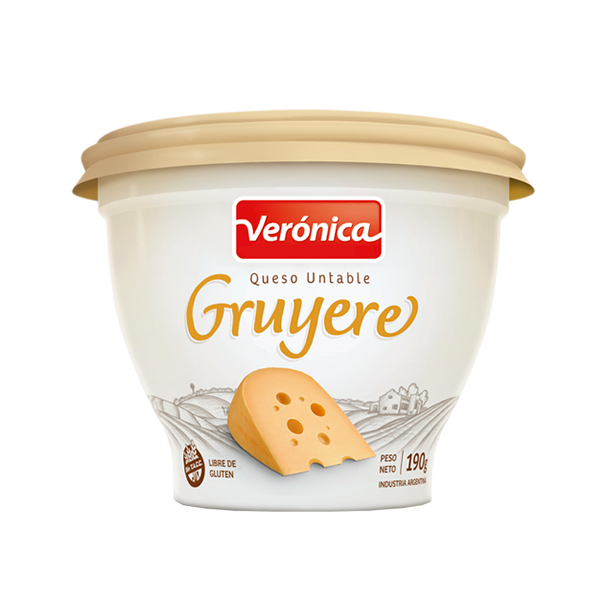 QUESO UNTABLE VERONICA GRUYERE 190GR