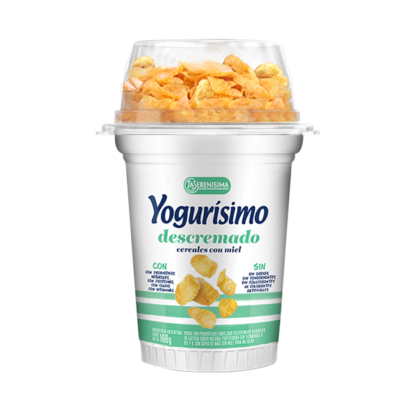 YOGURISIMO DESC NATURAL C/COPOS  MAIZ 166GR