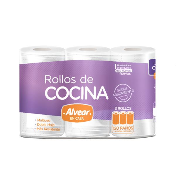 ROLLO COCINA ALVEAR 3U