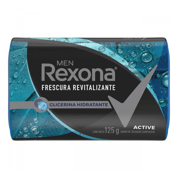 JABON REXONA ACTIVE 3U 125GR