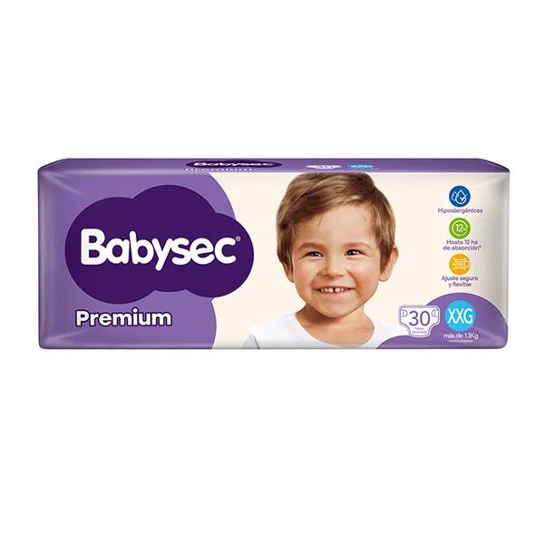 PAÑAL BABYSEC PREMIUM HIPER XXG 30U