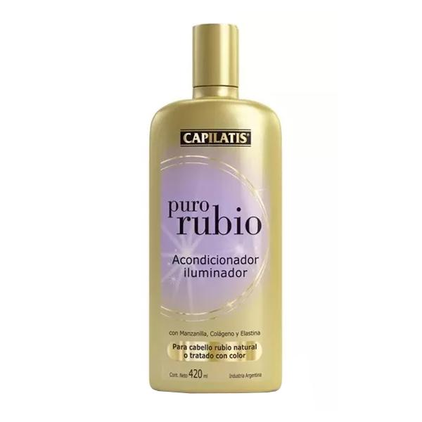 ENJUAGUE CAPILATIS PURO RUBIO 420CC