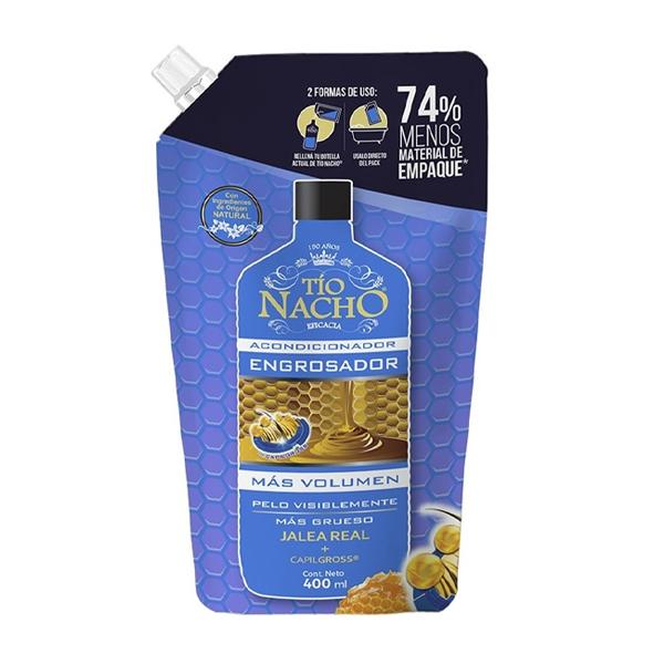 ACOND TIO NACHO ENGROSADOR POUCH 400CC