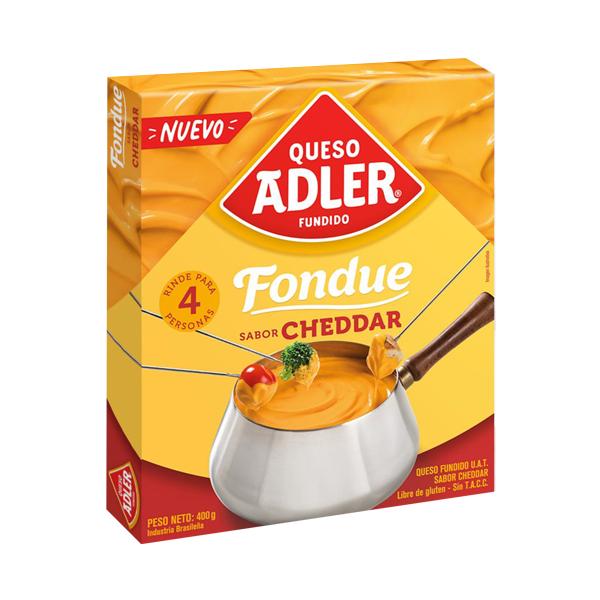QUESO ADLER FONDUE CHEDDAR 400GR
