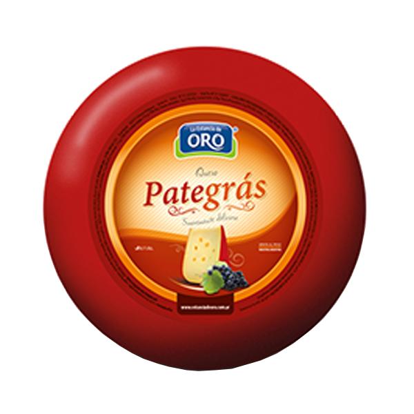 QUESO PATEGRAS EST DE ORO KG