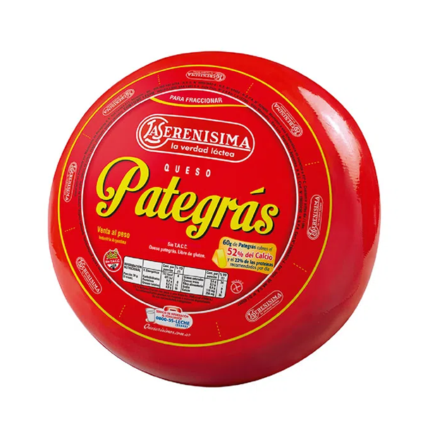 QUESO PATEGRAS LS KG