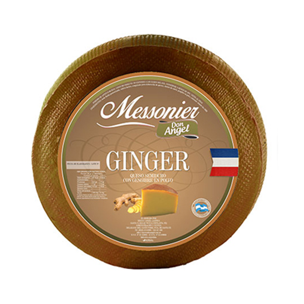 QUESO GINGER MESSONIER KG