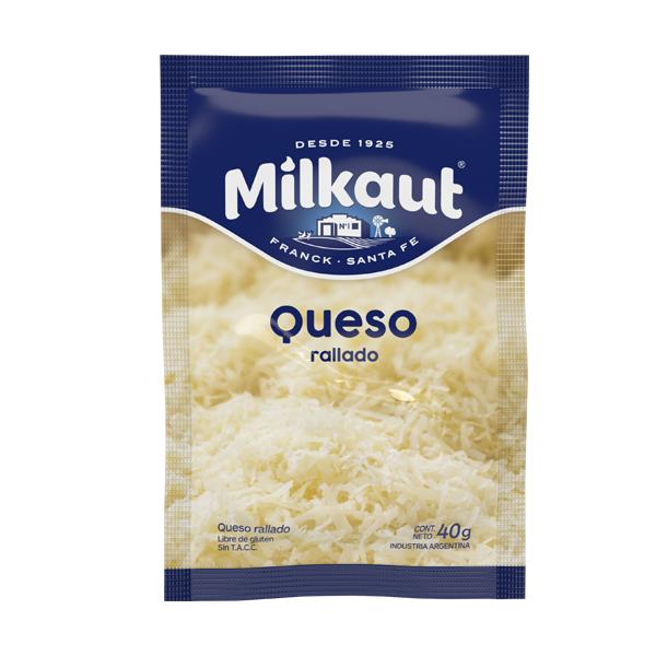 QUESO RALLADO MILKAUT 40GR
