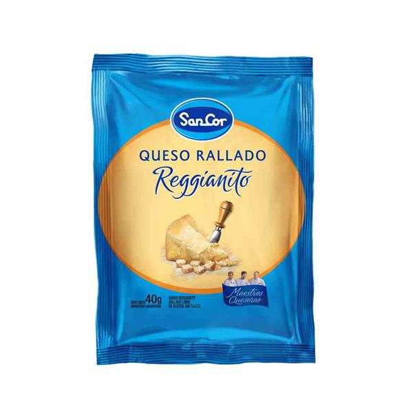 QUESO RALLADO SANCOR TRADIC 40GR