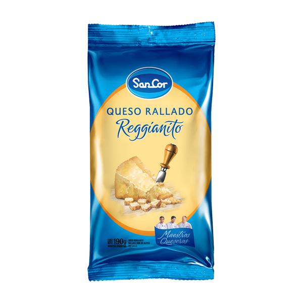 QUESO RALLADO SANCOR TRADIC 190GR