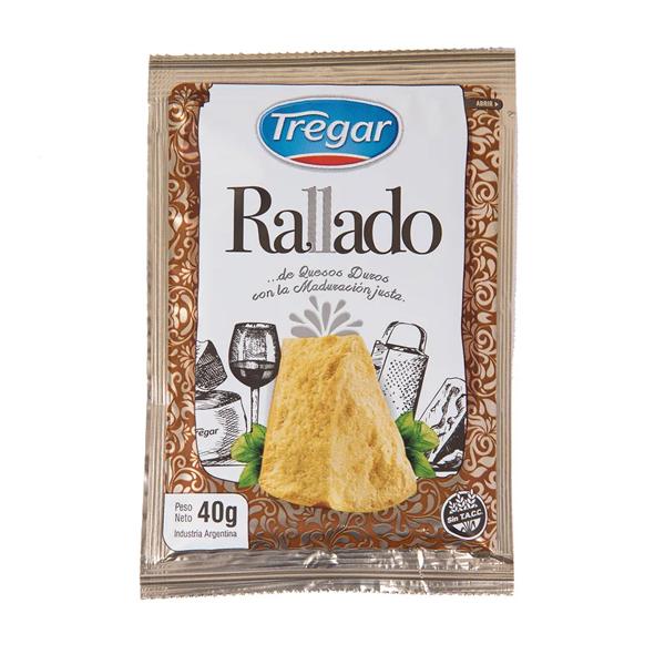 QUESO RALLADO TREGAR 40GR